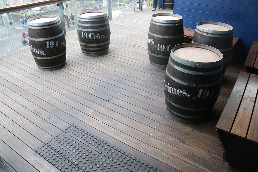 WINE BARREL- Up to 10pax per barrel