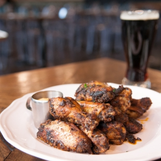 New Orleans Blackened Cajun Wings
