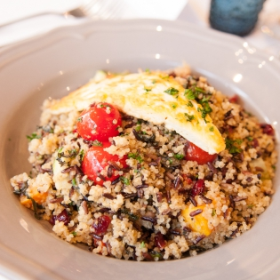 Quinoa, Halloumi and Roasted Vegetable Salad